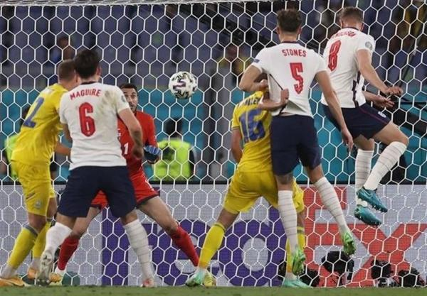 یورو 2020، جشنواره گل انگلیس مقابل اوکراین به روایت تصویر